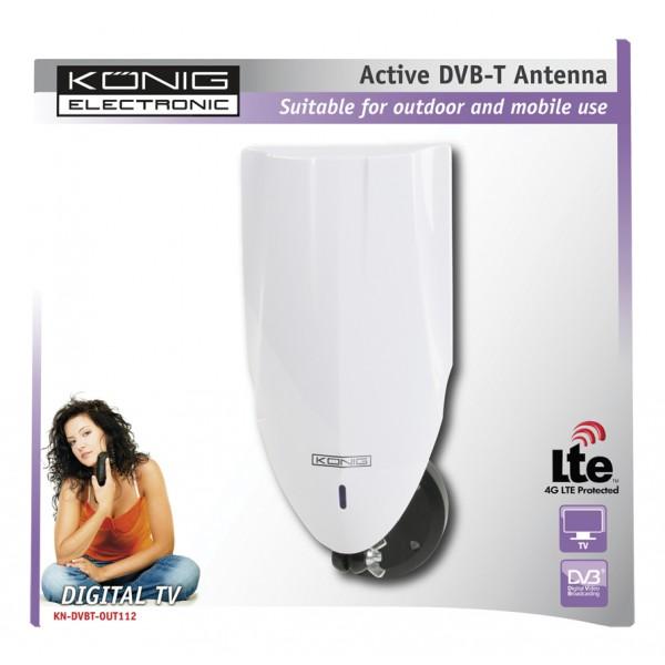 Antenne tnt d int rieur ext rieur avec filtre lte - Quelle antenne tnt interieur choisir ...