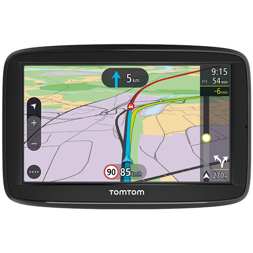 tomtom via 52 navigation system 480x272 micro sd. Black Bedroom Furniture Sets. Home Design Ideas
