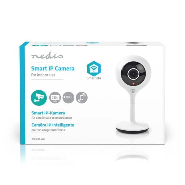 nierle com - Nedis WiFi Smart IP Camera | HD 720p