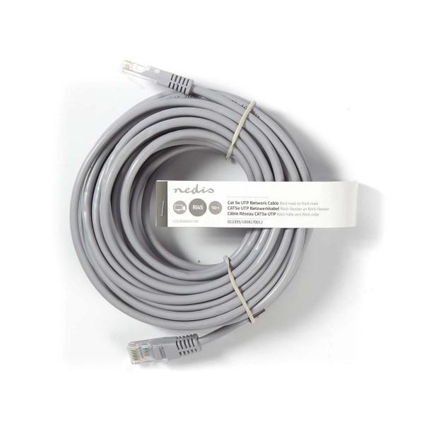 White 8P8C 8P8C Nedis CAT5e UTP Network Cable 1.0 m Male RJ45 Male RJ45