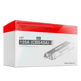Laserdrucker Toner, Wiederbefüllt, Ersetzt HP 125A (CB540A), 2200, Schwarz