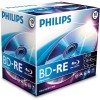 Philips Blu Ray Disc BD-RE Rewriteable 135 min/25 GB 2x, 10-pack in jewelcase