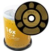 DVD-R 4,7 GB NIERLE Video Gold Edition 16x i Cakebox 100 stk.
