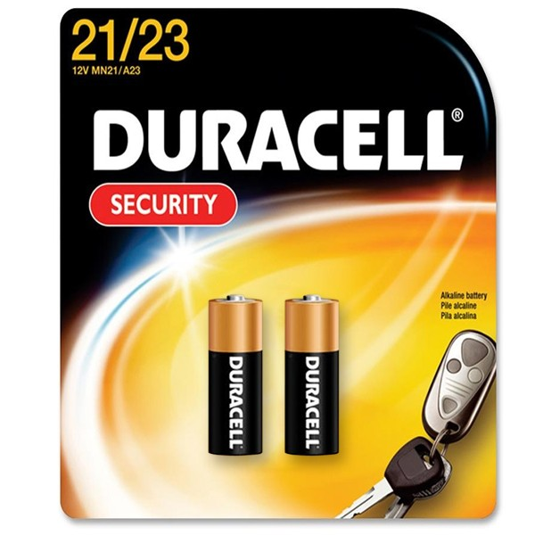duracell 12v piles security alkalines a23 k23a lrv08 lr23a lrv08 gp23a mn21 2 pieces. Black Bedroom Furniture Sets. Home Design Ideas