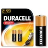 Duracell 12V Piles Security Alkalines, A23/ K23A / LRV08 / LR23A / LRV08 / GP23A / MN21, 2 pieces