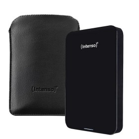 External Hard Disk 2,5�� Intenso Memory Drive, 500 GB USB 2.0 + USB 3.0, black, Including carrying case