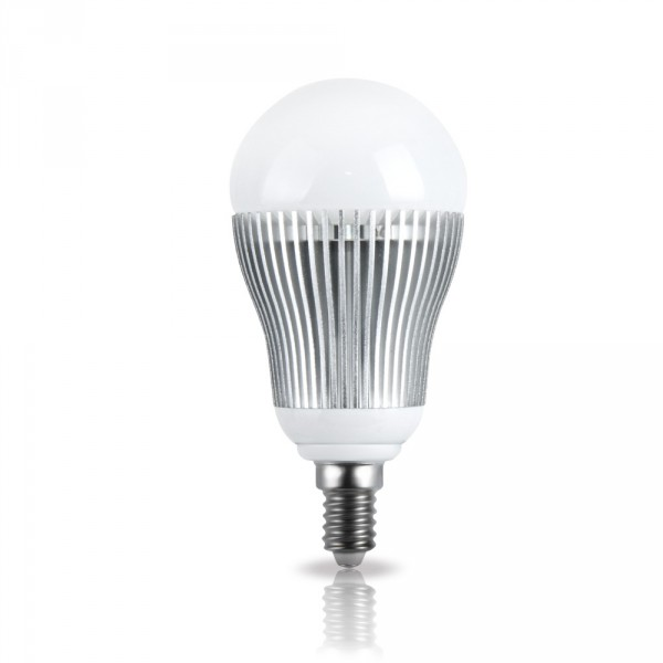 lampe led globe gradable avec t l commande e14 230v 5w rgb 95lm. Black Bedroom Furniture Sets. Home Design Ideas