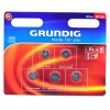 Grundig Litio batterie a bottone, CR1216 / DL1216 / 5034LC / E-CR1216, 3V - 5 pieces