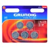 Grundig Litio batteria a bottone, CR2430 / DL2430 / 5011LC / E-CR2430, 3V - 5 piece