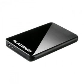 External Hard Disk 2,5�� Platinum MyDrive CP, 500 GB USB 2.0 + USB 3.0, black