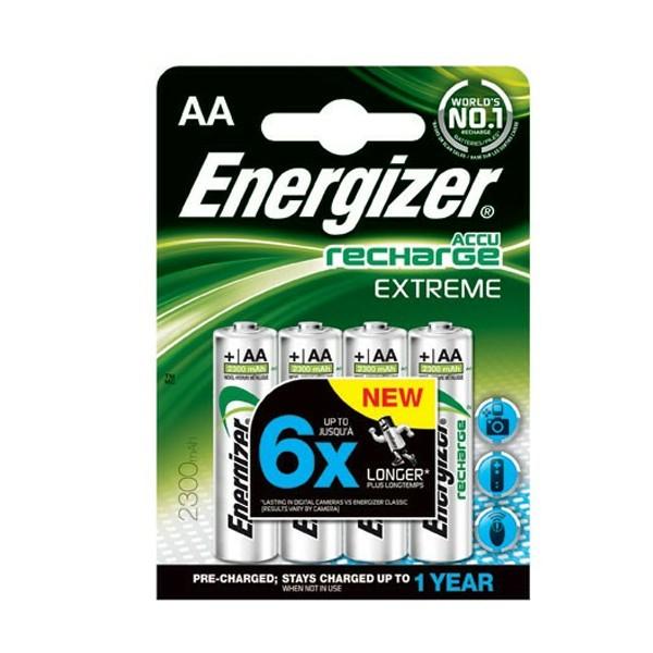 10 x Energizer Extreme Akku AA Mignon HR6 1,2V NiMH 2300mAh im Blister