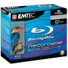 Blu-ray Disc EMTEC BD-R 25 GB, 6x Speed in jewelcase 5 stuks