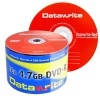EUR 9,49 - Datawrite Red DVD-R 120 min / 4.7 GB 16x, 50 piezas en ECO-pack