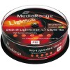 MediaRange 5 Colours DVD+R 4.7 GB / 120 min 16x, LightScribe 1.2, 25 stk i cakebox
