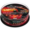 MediaRange 5 Colours DVD-R 4.7 GB / 120 min 16x, LightScribe 1.2, 25 stk i cakebox