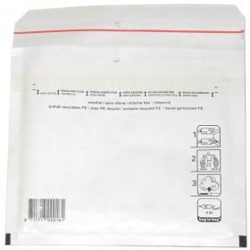 Luftpolstertaschen CD, 200x175mm passend für 1 x 10,4mm oder 2 x 5 mm Jewelbox, 200 Stück, Weiß