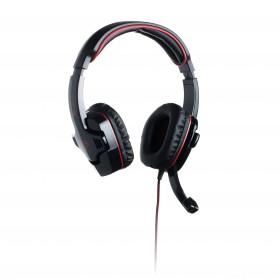 connectIT Biohazard GH2000 Headset, 112 db, Schwarz, Rot