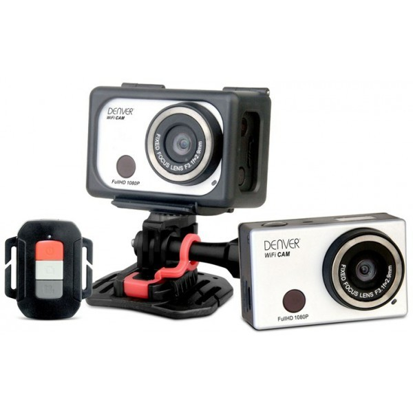 denver ac 5000w mk2 action camera 1080p fullhd wifi. Black Bedroom Furniture Sets. Home Design Ideas