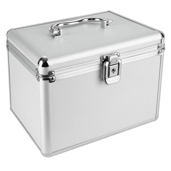 Nierle DJ väska Lämplig för 120 CDDVDBlu ray, ABS, Silver