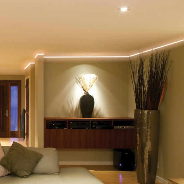 bande de led r glable facile poser l int rieur et en ext rieur 3 200 lm 5 m. Black Bedroom Furniture Sets. Home Design Ideas