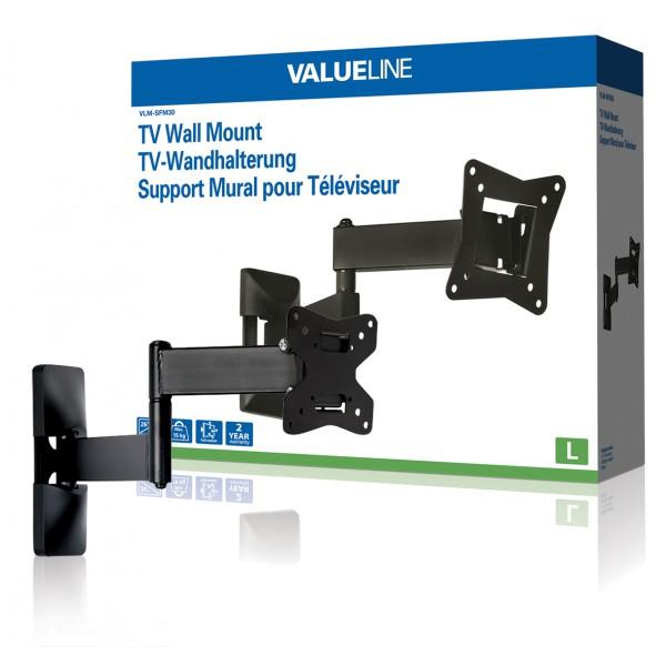 Support mural à mobilité intégrale pour TV 10 - 26´´   25 - 66 cm, 15 kg ed54a17d4057