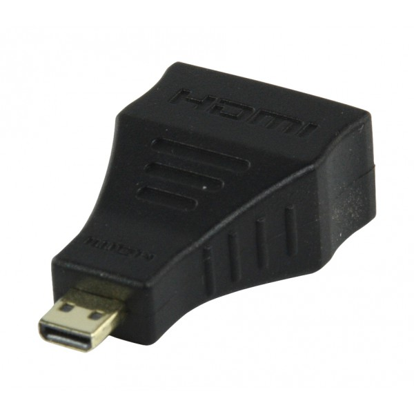 hdmi connector buchse auf hdmi micro connector adapter. Black Bedroom Furniture Sets. Home Design Ideas