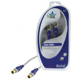 Standard Koax Kabel Stecker - Stecker 90dB 1,50m