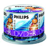 DVD-R 4,7 GB Philips 16x Speed in Cakebox 50 St�ck