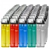 Disposable lighters in 5 different colours - 50-pack
