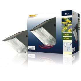 LED-Wandleuchte mit Solarpanel und PIR-Bewegungsmelder