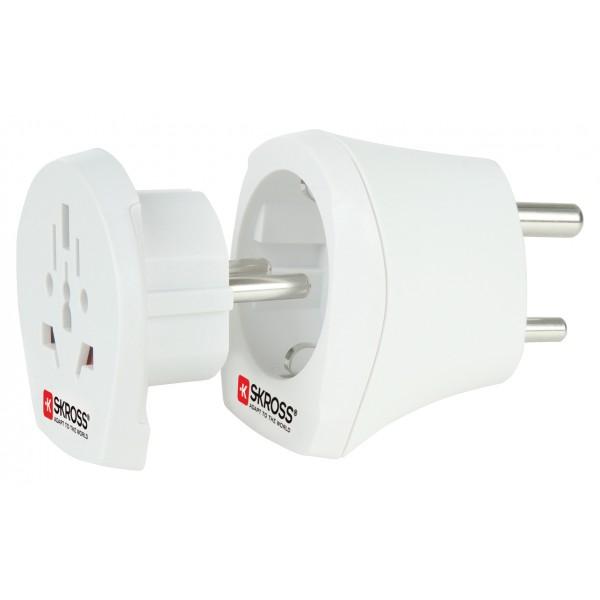 SKR1500215 Skross Combo adapter world to India