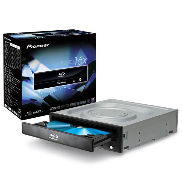 nierle com - Pioneer Internal Blu Ray/DVD burner BDR-S09XLT, 16x BD-R, 16x  DVD, M-DISC Ready, BDXL 8x, Black