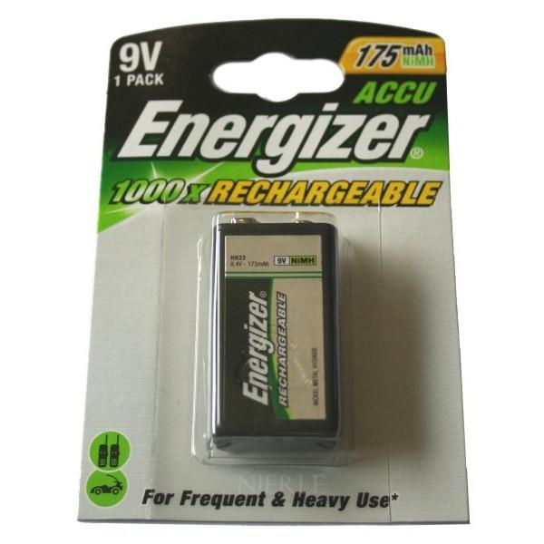 energizer pile rechargeable nimh 175 mah 9v. Black Bedroom Furniture Sets. Home Design Ideas