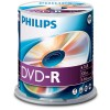 DVD-R 4,7 GB Philips 16x Speed in Cakebox 100 St�ck