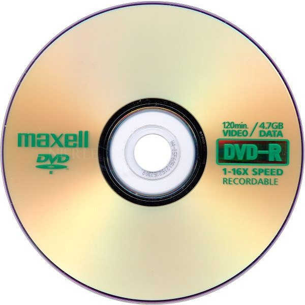 picture relating to Printable Dvd Rohlinge named - DVD-R 4,7 GB Maxell 16x Rate ECO-Pack 100 sections