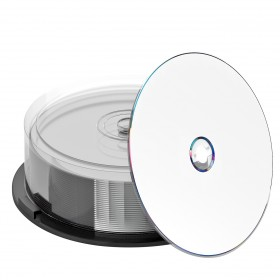 DVD+R DL 8,5 GB NIERLE Edition White inkjet fullprintable A-GRADE 8x Speed Double Layer  Premium-Line in Cakebox 25 Stk