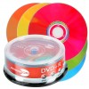 DVD+R 4,7 GB PRIMEON Lightscribe 1.2 16x velocit� Color Mix Edition in campana di 25 pezzi