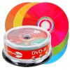 DVD-R 4,7 GB PRIMEON Lightscribe 1.2 16x Speed Color Mix Edition in Cakebox 25-stuks