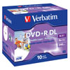 DVD+R DL 8,5 GB Verbatim 8x Speed Double Layer Printable  in Jewelbox 10-pack