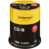 CD-R 80 Min/700 MB Intenso 52x in cakebox 100 Stuks