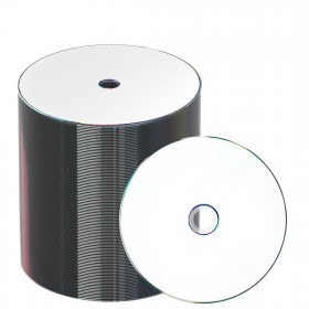 JVC-Taiyo Yuden DVD-R 120 min/4.7 GB 16x, Full printable White, 100 St�ck in ECO-pack