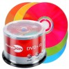 DVD+R 4,7 GB PRIMEON Lightscribe 1.2 16x Speed Color Mix Edition i cakebox 50 Stk