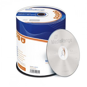 MediaRange DVD+R 4.7 GB / 120 min 16x, 100 pieces in cakebox
