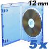 Blu-ray DVD-cases Prodye 12 mm blue - 5 pack