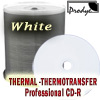 CD-R 80 Min/700 MB NIERLE Edition Professional Line THERMAL fullprintable WHITE Cakebox 100 Stück