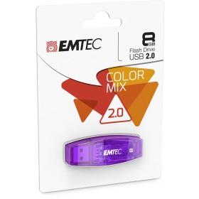 EMTEC C410 8GB 8GB USB 2.0 Schwarz USB-Stick