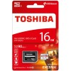 Toshiba CL10 EXCERIA M302 Secure Digital micro SDHC-UHS I Speicherkarte, 16 GB, Class 10, 90 MBytes/s, mit SD/SDHC Adapter