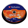 DVD-R 4,7 GB Verbatim 16x Speed in Cakebox 10 St�ck
