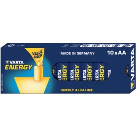 Varta 10x AA 4106 - Batterie Mignon (AA) 1,5 V - Alkalimangan