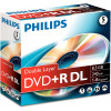 Philips DR8S8J05C DoubleLayer  - DVD+R9 - 8.5 GB - 5 Pack Jewel Case